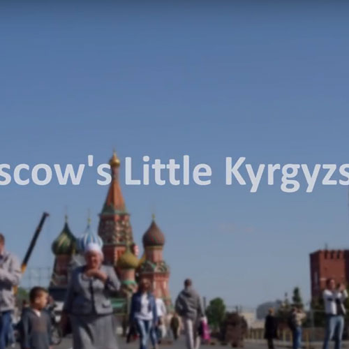Ground Focus press Moscow's Little Kyrgyzstan