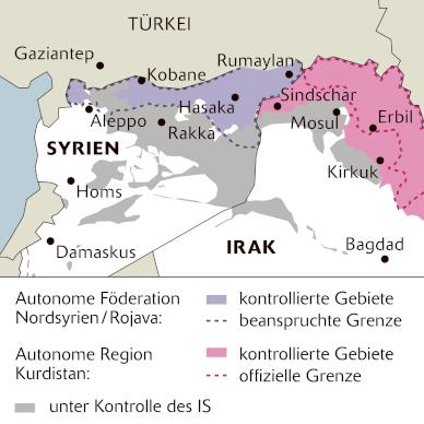 Innerkurdische Spannungen: Welches Kurdistan?