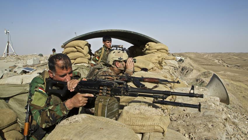 Kurdish disunity on the frontlines of Syria's war